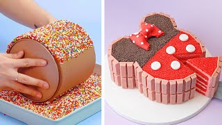 How To Make Cąke For Your Coolest Family Members | So Yummy Birthday Cake Hacks | Perfect Cake