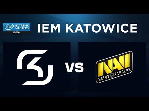 CS:GO - SK Vs Na`Vi - Overpass - IEM Katowice 2017 - Groupe B