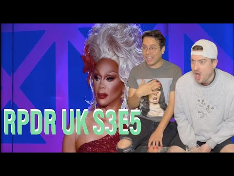 Download Rupaul's Drag Race UK Season 3 episode 5 Reaction