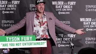 "Tyson Fury: ""Are You Not Entertained?"" 