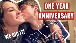 OUR ONE YEAR ANNIVERSARY VLOG