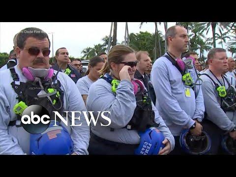 911 calls released in Surfside condo collapse l WNT