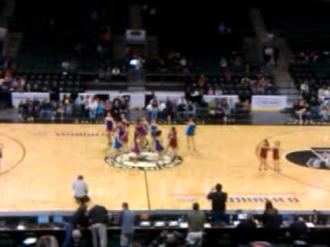 Greater Austin Dance Academy at Toros Game 2/12/11