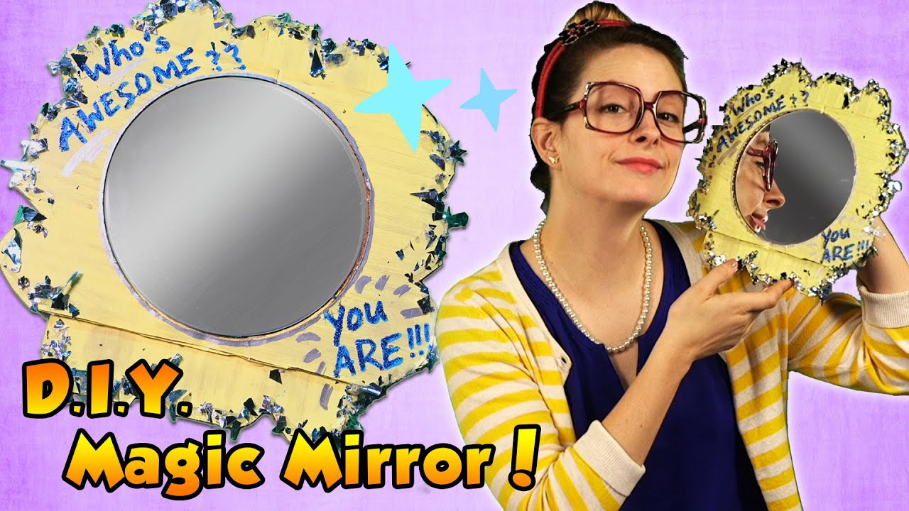 Diy Snow White Magic Mirror Arts And Crafts With Crafty You