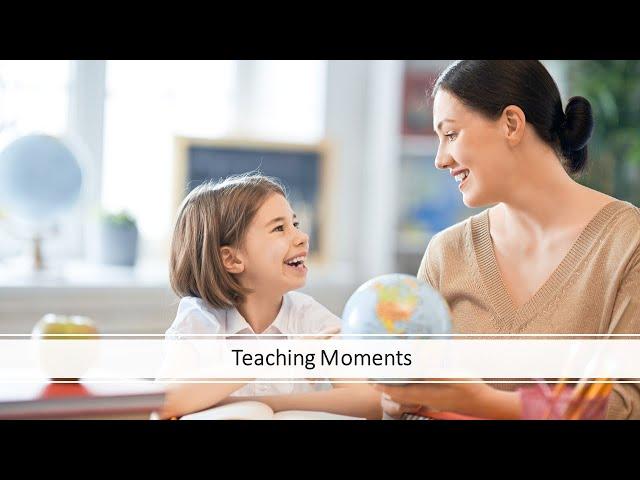 September 4, 2021. Teaching Moments. By Pr. Ryan Reeves