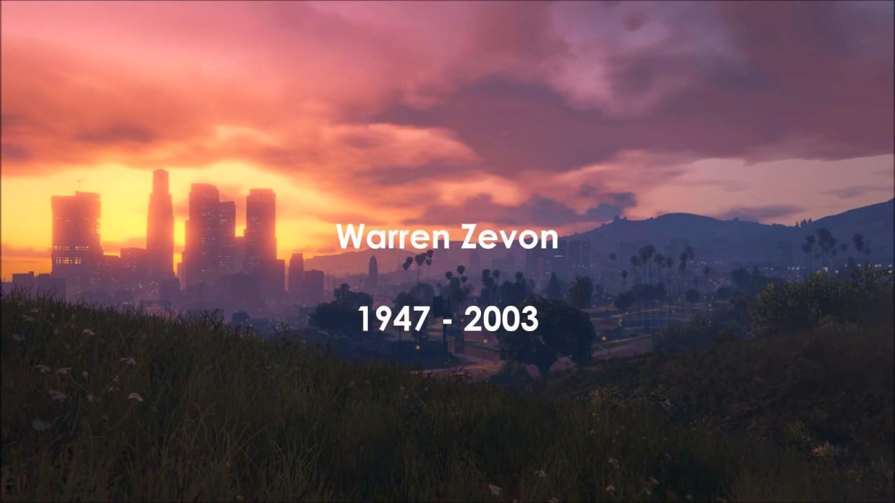 Desperados Under The Eaves Warren Zevon Lyrics Youtube