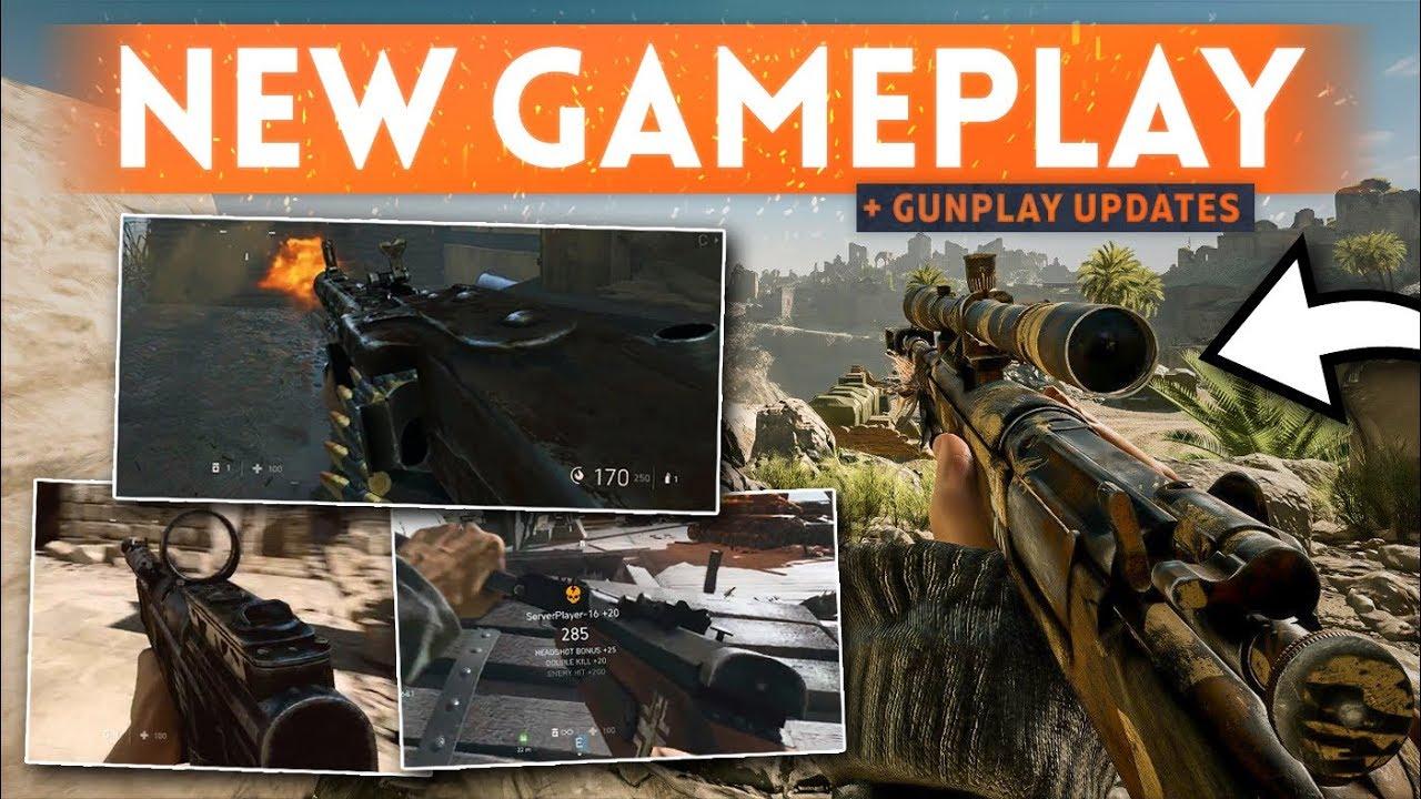 BATTLEFIELD 5 NEW GAMEPLAY: MG42, Sturmgewehr 1-5, Krag-Jorgensen & MP34! (+ Gunplay Tweaks)