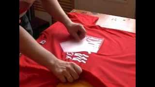 Печать футболок, футболки с логотипами(Процесс печати на футболках, терпоперенос пленок на текстиль. Футболки с логотипами и изображениями. Рекла..., 2008-10-17T10:17:56.000Z)