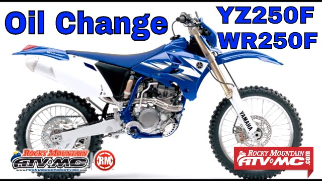 yz250f and wr250f oil change instructions yz wr 250f dirt bike rh youtube com 2008 yamaha yz250f service manual pdf 2009 YZ250F Fork Oil Specs