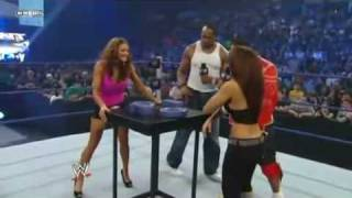 WWE Smackdown: Layla vs. Eve Torres, 8th May 2009 (Arm Wrestling Contest)