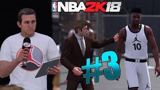 Nba 2k18 mycareer gameplay prelude - trash talking rival! money hungry agent! ep. 3