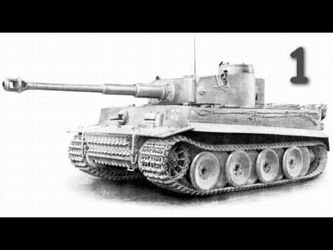 Сборка  танка T-VI «Тигр» Звезда 1:35 - часть 1. Сборка корпуса