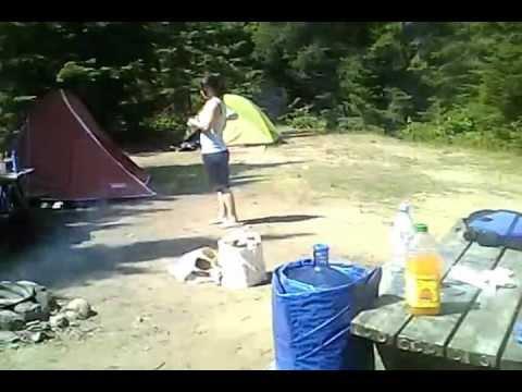 C&ing au Parc National Du Mont-Tremblant Jour 1 & Camping au Parc National Du Mont-Tremblant Jour 1 - YouTube
