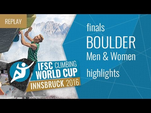 IFSC Boulder World Cup Innsbruck Highlights