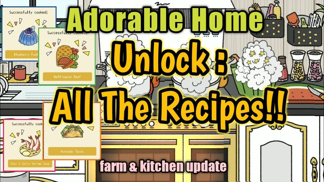 Adorable Home Recipes Kitchen And Farm Unlocked Youtube