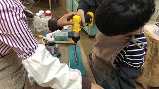 시율TV : 목공체험 #2. 라이트박스 만들기