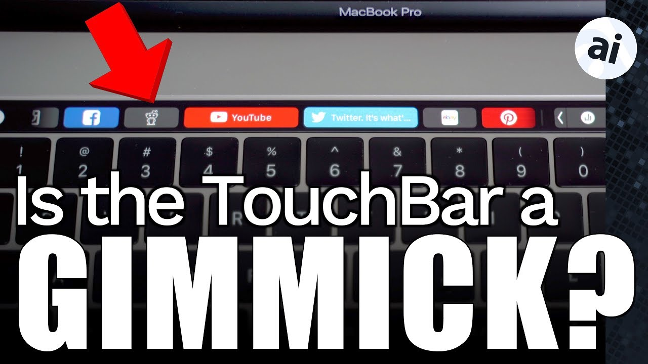 The Touch Bar on the MacBook Pro is well implemented, but serves no