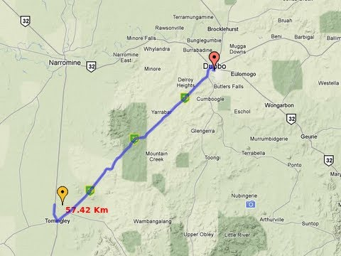 measure the length of a path running route or border using google
