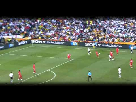Mesut Özil vs England (World Cup 2010) HD 720p by Hristow