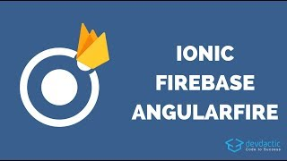 كيفية إنشاء الأيونية البسيطة 4 Firebase التطبيق مع AngularFire