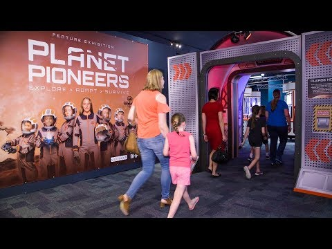 Planet Pioneers: A Science, Technology, and Engineering Exhibition
