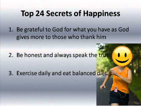 how to become happy with yourself