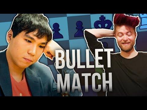 GM Wesley So VS GM Aman Hambleton | 1+1 BULLET MATCH