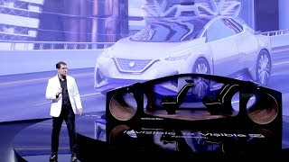 Nissan at CES 2019: Invisible-to-Visible Tech Demo