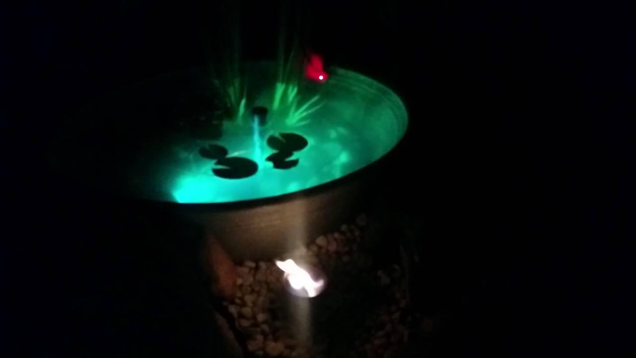 Miniteich Beleuchtung | Terrassenteich By Ebike Community Beleuchtung Zinkwanne Gartenideen