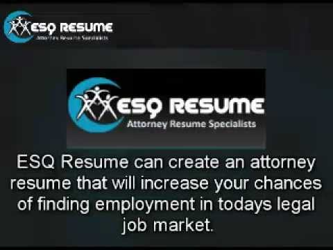 How to Draft an Effective Lawyer Resume | ESQ Resume: Lawyer Resume Writing Services