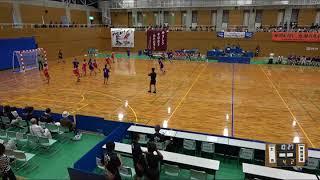 2018IH 女子ハンドボール 1回戦 土佐(高知県) 対 神埼清明(佐賀県)
