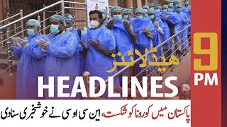 ARY News Headlines | 9 PM | 6 August 2020