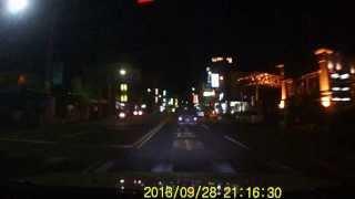 2013/09/28晚間台南新化市區車禍