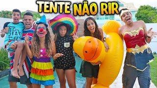 TENTE NÃO RIR COM CRIANÇAS! - (ÉPICO) - KIDS FUN thumbnail