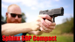 Kriss Sphinx SDP Compact 9MM First Shots