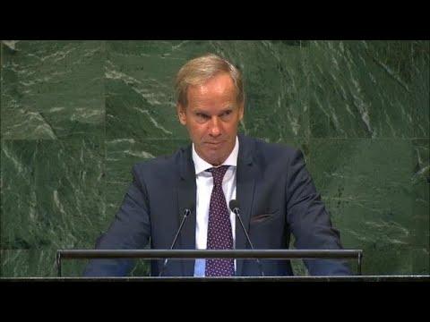 🇸🇪 Sweden - Chair of Delegation Addresses General Debate, 73rd Session