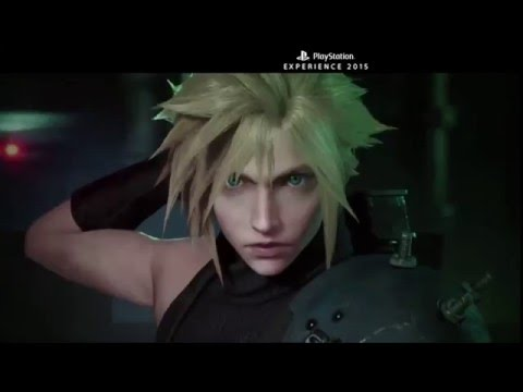 Sony shows off Final Fantasy VII Remake footage at PSX