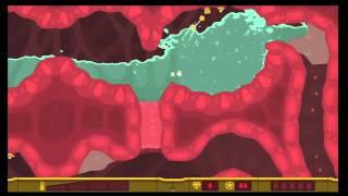 "PixelJunk Shooter 2 ""Indigestion"" All Survivors & Treasure"
