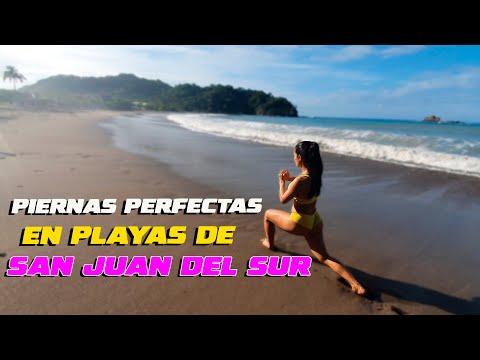 Piernas Perfecta entrenando en Playa de San Juan del Sur │ Anabella Galeano