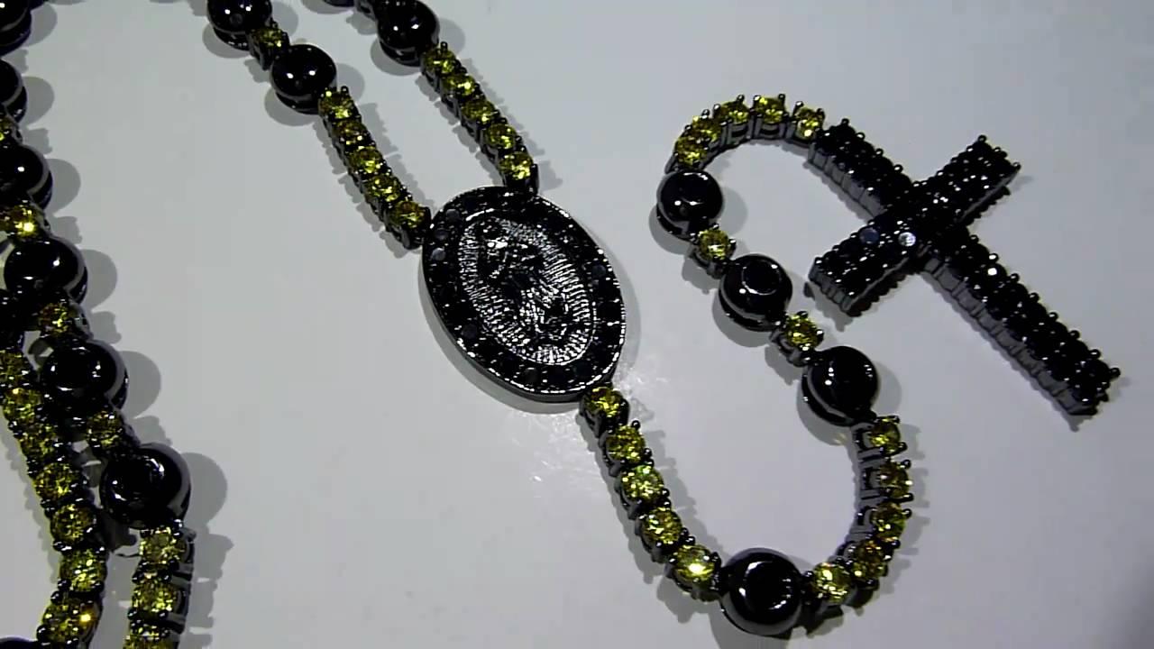 Youtube Black Diamond Necklace