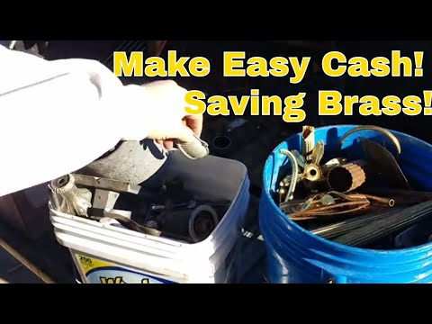 Make Money Scrapping Brass