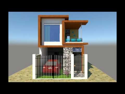 Video casa unipersonal 6x15 doovi for Casa moderna minimalista interior 6m x 12 50 m