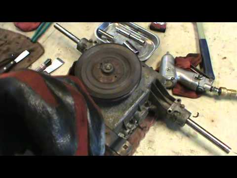 How To: Unassemble & Reassemble Transaxles (Peerless) by