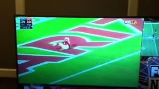 John Brown TD Dance vs Rams