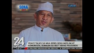 24 Oras: SONA Special Report: Peace and Environment