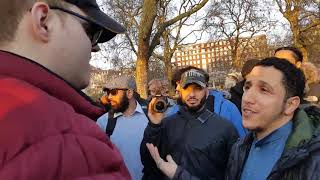 Which part of Islam's ideology don't you agree with?! Shamsi & Alex Speaker's corner Hyde park
