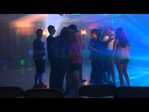 New Martinsville School 8th grade end of year dance, shook me all night long