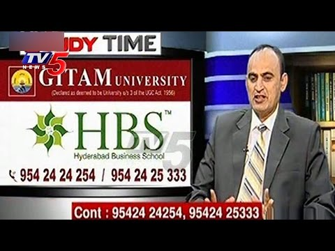 How to Get MBA Seat in Business School ? | GITAM University | HBS | Study Time | TV5 News