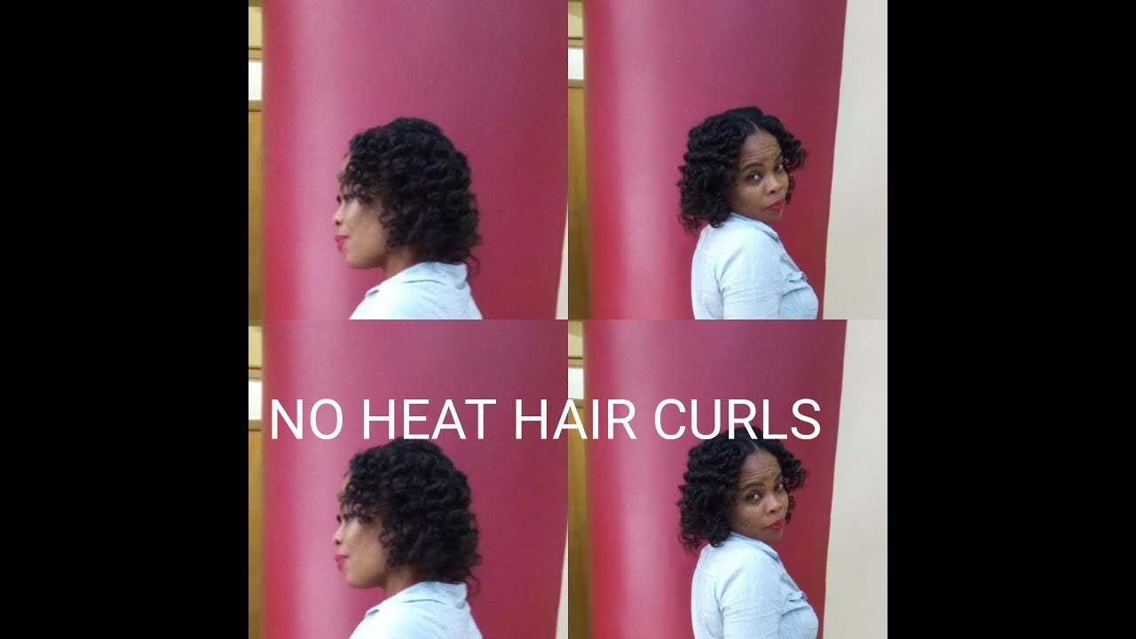 Diy How To Curl Your Hair Without Heat For Relaxed And Natural