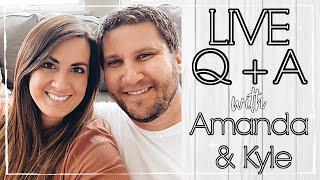 LIVE!! Q + A with Amanda & Kyle :: This Crazy Life VLOG